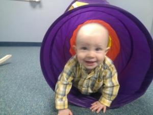Caleb in PACC nursery by Wendi Sisson on FB