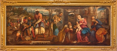 Venice - The Adoration of Magi in Santa Maria dei Frari.